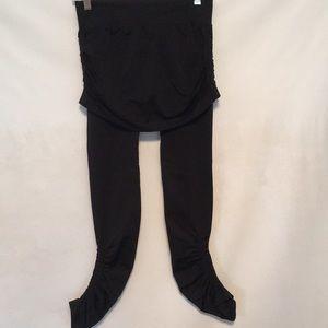 Athleta Leggings with Skirt S